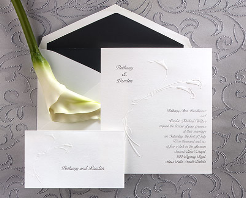 Personalized Wedding Invitations Do More Than Invite And Inform:  Invitation Forms